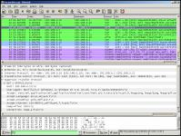 Screenshot programu Wireshark 1.7.0 x64 Beta