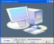 Screenshot programu WonderWebware Screen Capturer 1.0