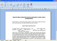 Screenshot programu Word To PDF konvert 2.1
