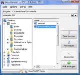 Screenshot programu WordToPDF  2.4
