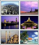 Screenshot programu World Travel 5 Screensaver