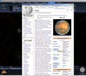 Screenshot programu WorldWide Telescope 2.1.8.1  Beta