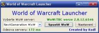 Screenshot programu WoW Launcher 2.0