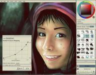 Screenshot programu X-MyPaint 1.0.0 [rev5]