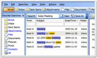Screenshot programu X1 Desktop Search 5.2.1