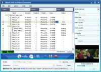 Screenshot programu Xilisoft DVD to iPhone Converter 6.0.5.0624