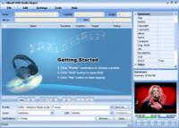Screenshot programu Xilisoft DVD Audio Ripper 6.0.3.0504
