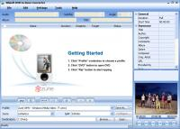 Screenshot programu Xilisoft DVD to Zune Converter 6.0.3.0504