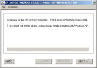 Screenshot programu XP_DETOX_WIZARD 1.0.0.2
