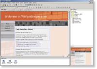 Screenshot programu Yahoo! SiteBuilder  2.6