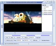 Screenshot programu Yasa MPEG/AVI to VCD/DVD/SVCD/MPEG/AVI Converter 2.4.74