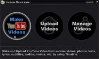 Screenshot programu Youtube Movie Maker 12.26