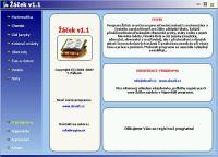 Screenshot programu Žáček 1.2