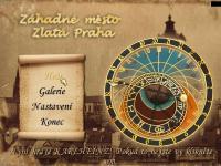 Screenshot programu Záhadné město - Zlatá Praha 1.5