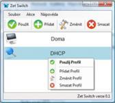 Screenshot programu Zet Switch 0.3.0