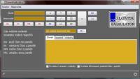 Screenshot programu Zlomek kalkulátor 1.1