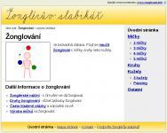 Screenshot programu Žonglérův slabikář 0.4