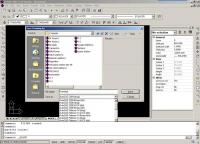Screenshot programu ZwCAD Professional  2008i