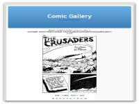 Screenshot programu comicgallery