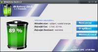 Screenshot programu dB Battery check 1.3