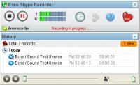 Screenshot programu iFree Skype Recorder 3.9.9