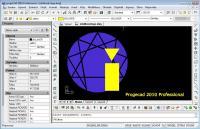 Screenshot programu progeCAD 2010 PRO CZ