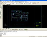 Screenshot programu progeCAD professional  2009 CSY